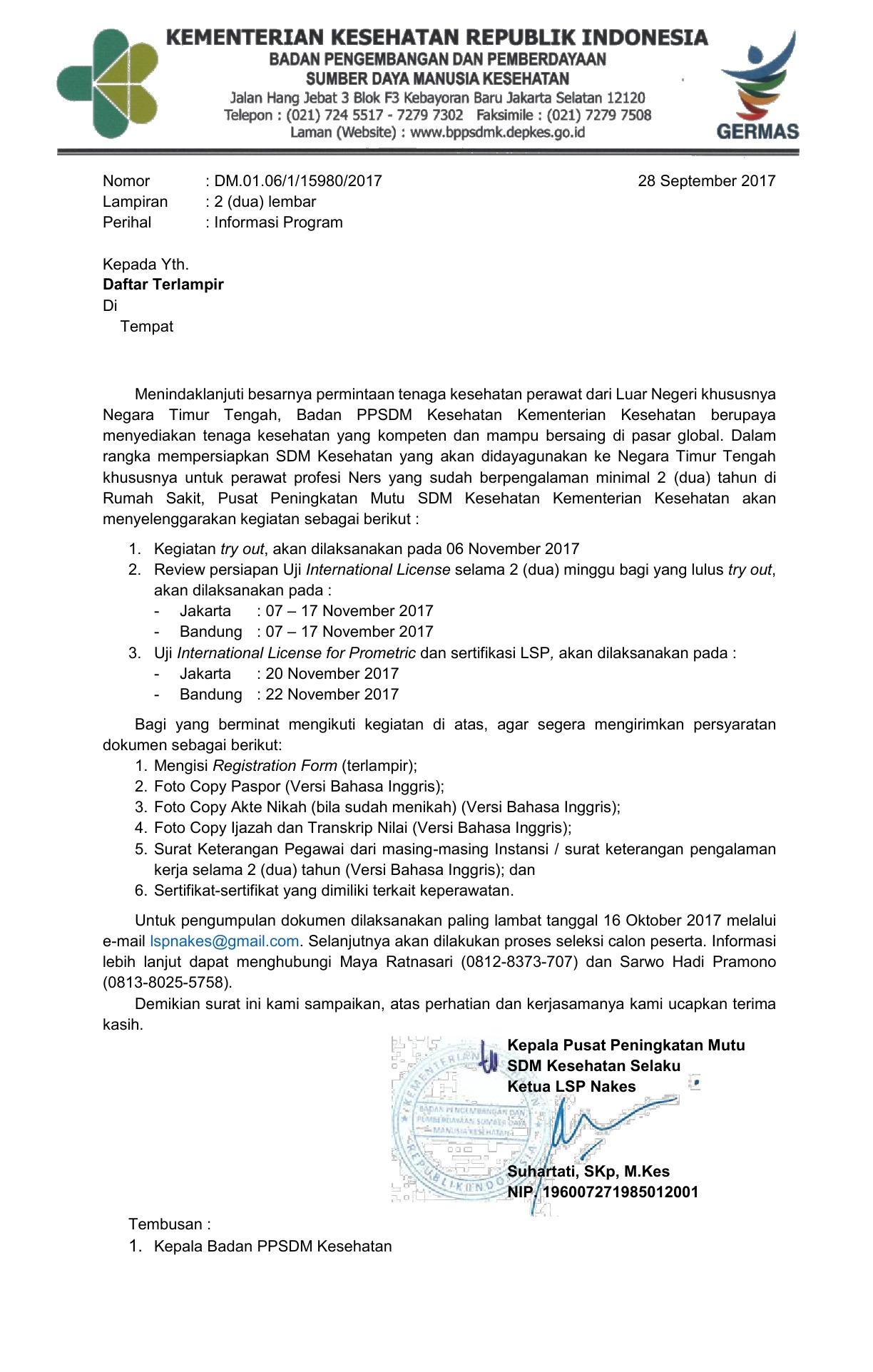 Surat Pemberitahuan Next Program LSP Nakes1
