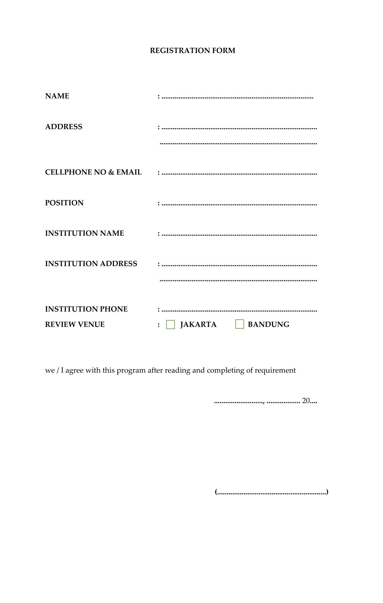Surat Pemberitahuan Next Program LSP Nakes3